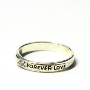 VERIGHETA FOREVER LOVE ARGINT 925‰