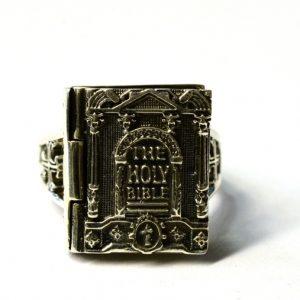 INEL BIBLIE CASETA ARGINT